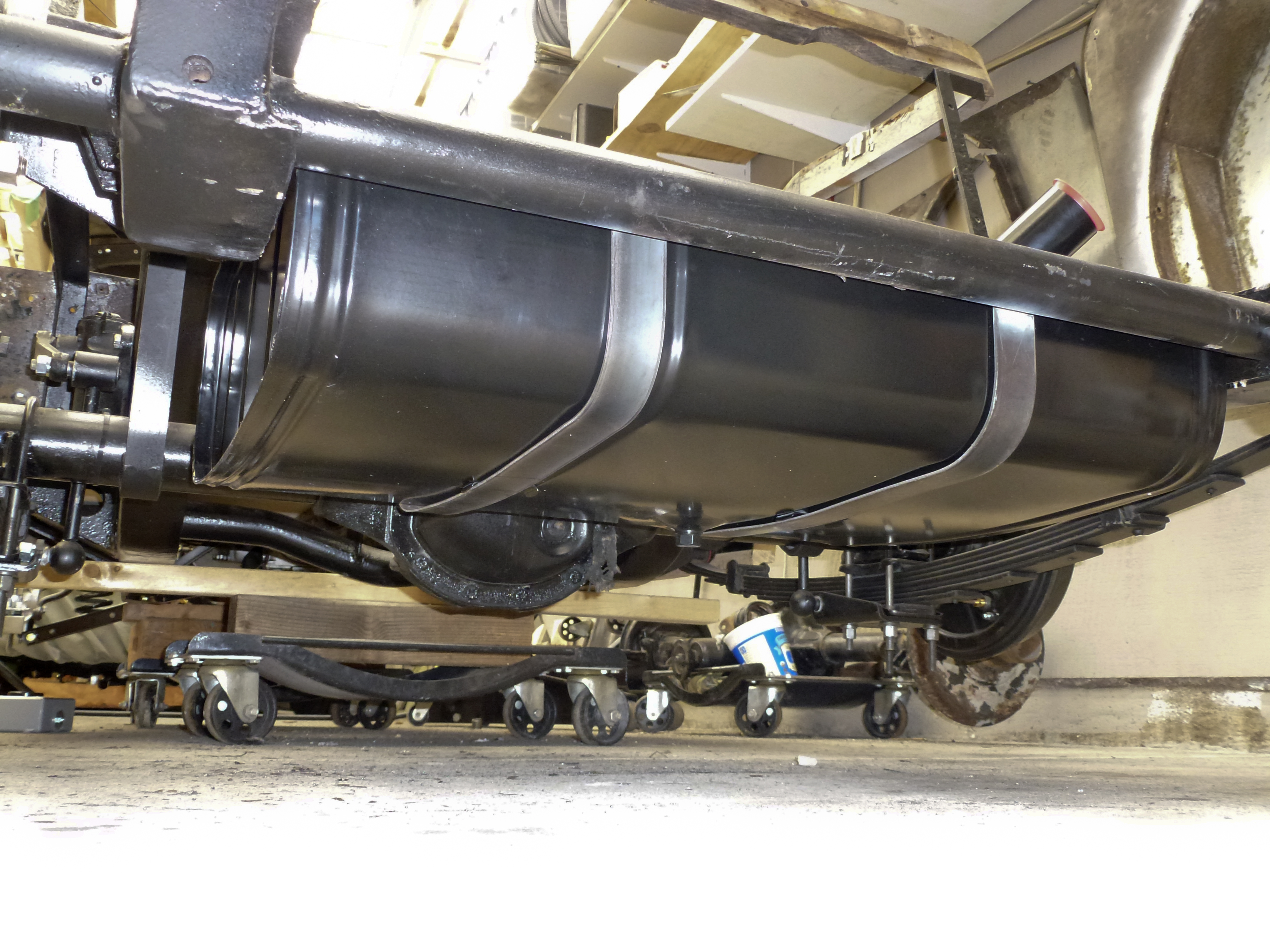Mga Fuel Tank Under on Fuel Tank And Line