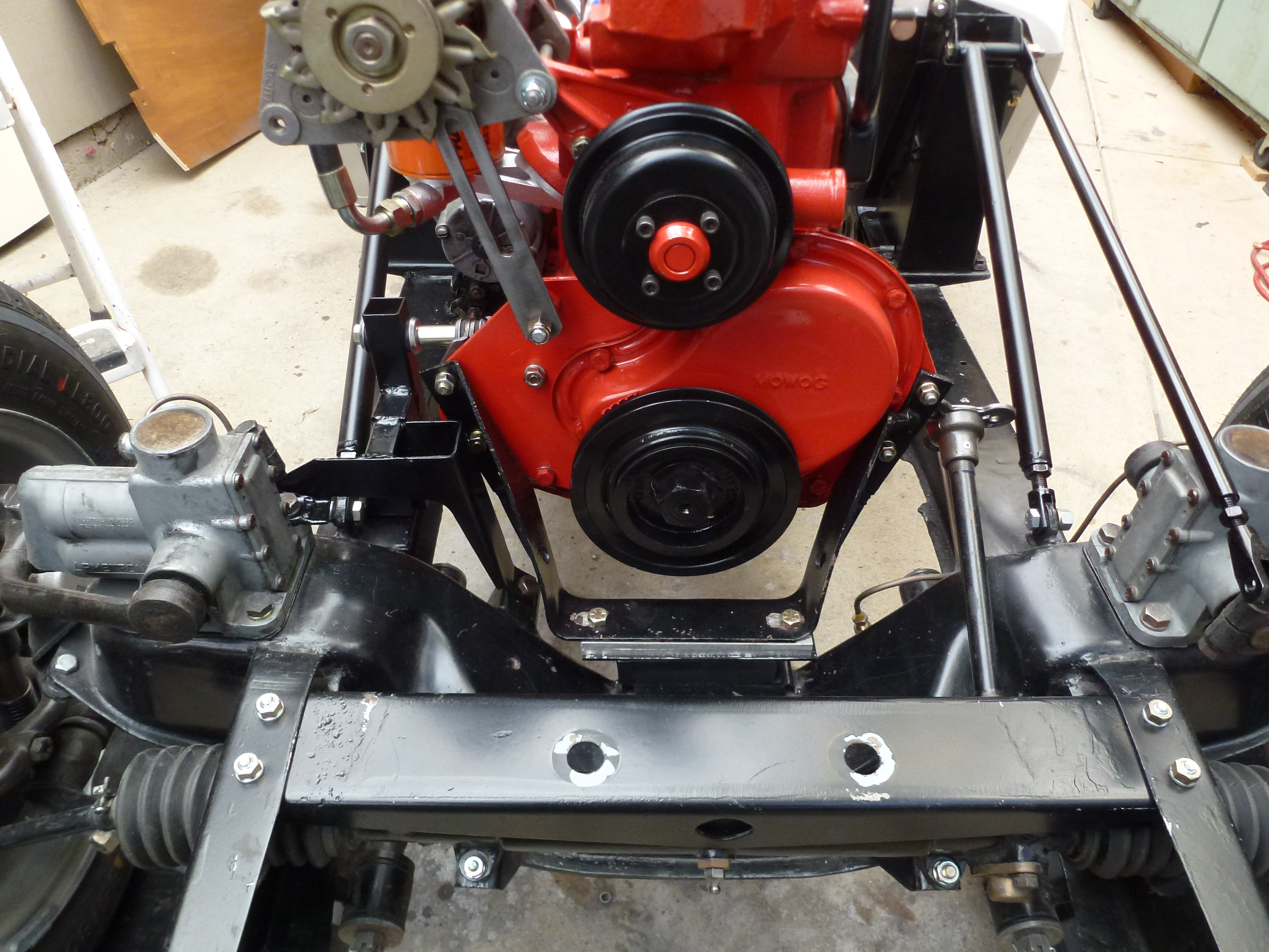 Mg cars new engine and transmission for the mg tf b for New motor and transmission